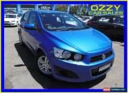 2012 Holden Barina TM MY13 CD Blue Manual 5sp M Hatchback for Sale