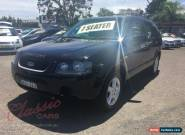 2004 Ford Territory SX TS (RWD) Black Automatic 4sp A Wagon for Sale