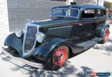 Classic 1934 Ford Chopped Tudor Chopped Sedan for Sale