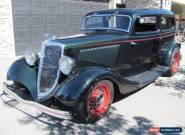 1934 Ford Chopped Tudor Chopped Sedan for Sale