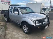 2010 Nissan Navara D40 ST-X (4x4) Silver Automatic 5sp A Extracab for Sale