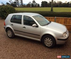 Classic 2001 Mk4 VOLKSWAGEN GOLF 1.6 SE SILVER for Sale