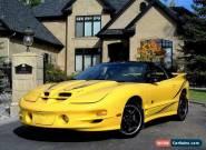 2002 Pontiac Firebird NO RESERVE for Sale