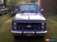 1984 Chevrolet C-10 Silverado Standard Cab Pickup 2-Door for Sale