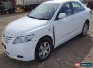 2007 TOYOTA CAMRY ALTISE SEDAN AUTO LIGHT DAMAGE REPAIRABLE for Sale