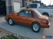 1988 Ford Mustang LX notchback for Sale