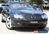Classic 2002 Mercedes-Benz SL500 R230 Obsidian Black Automatic 5sp A Convertible for Sale