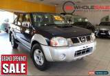Classic 2010 Nissan Navara 4X4 ST-R Blue Manual M Dual Cab Utility for Sale