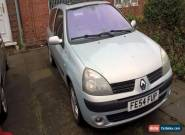 Renault Clio Dynamique 16V 3 Door Hatchback Petrol Car 2004 for Sale