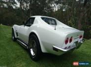 1973 Corvette Stingray with Side Pipes - USA Muscle Car  for Sale