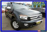 Classic 2013 Ford Ranger PX XLS 3.2 (4x4) Grey Manual 6sp M Dual Cab Utility for Sale