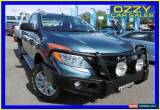 Classic 2012 Mazda BT-50 XT (4x2) Blue Manual 6sp M Cab Chassis for Sale