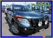 2012 Mazda BT-50 XT (4x2) Blue Manual 6sp M Cab Chassis for Sale