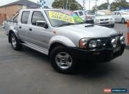 2009 Nissan Navara D22 MY08 ST-R (4x4) Silver Manual 5sp M Dual Cab Pick-up for Sale