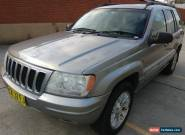 JEEP GRAND CHEROKEE LIMITED 4WD V8 4.7 L ENGINE - ONLY 129482 KM - APRIL REGO for Sale