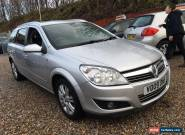 2009 VAUXHALL ASTRA DESIGN CDTI A SILVER for Sale