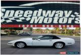 Classic 1993 Chevrolet Corvette Base 2dr Convertible for Sale
