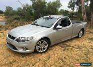 2010 Ford Falcon FG XR6 Silver Automatic 5sp A Utility for Sale