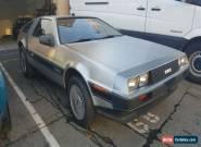 DeLorean : Delorean  for Sale