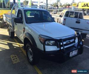 Classic 2010 Ford Ranger PK XL (4x2) White Manual 5sp M Cab Chassis for Sale