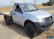 2007 MITSUBISHI TRITON GLX ML SINGLE CAB 3.5L 199KMS LIGHT DAMAGE DRIVES  for Sale