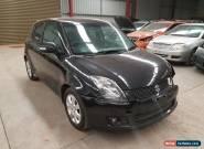 2010 Suzuki Swift RE4 black 5spd hatch 128km light damage repairable drives  for Sale
