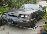 1985 Ford Mustang LX Sedan 2-Door for Sale