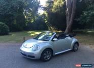 2006/56 Volkswagen Beetle 1.6 Luna 2 Door Convertible Silver for Sale