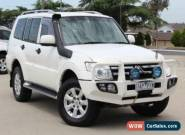 2009 Mitsubishi Pajero NT Platinum Edition White Manual 5sp Manual Wagon for Sale
