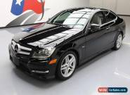 2012 Mercedes-Benz C-Class 4Matic Coupe 2-Door for Sale