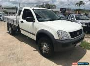 2003 Holden Rodeo RA LT White Manual 5sp M Crewcab for Sale