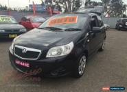 2009 Holden Barina TK MY09 Black Automatic 4sp A Hatchback for Sale