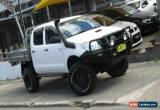 Classic 2010 Toyota Hilux KUN26R MY11 Upgrade SR (4x4) White Automatic 4sp A for Sale