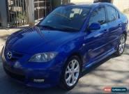 2007 Mazda 3 SP23 Sedan 5sp M 130K EASY REPAIR STOLEN DRIVES DAMAGED for Sale