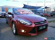 2015 Ford Focus LW MK2 MY14 Sport Maroon Automatic 6sp A Hatchback for Sale