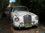 Mercedes Benz 220a 1956 Roundie for Sale