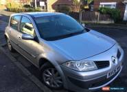 2006 Renault megane 1.6 16v vvti 11m mot SPARES OR REPAIR Whiney 3rd and 4th  for Sale