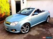 **LOW MILES** 2008 VAUXHALL TIGRA EXCLUSIV SILVER 1.4 BLUE CONVERTIBLE MANUAL for Sale