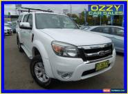 2010 Ford Ranger PK XLT (4x4) White Automatic 5sp A Dual Cab Pick-up for Sale