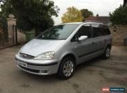2004 FORD GALAXY ZETEC 1.9 TDI AUTO SILVER for Sale