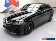 2014 Mercedes-Benz E-Class Base Sedan 4-Door for Sale