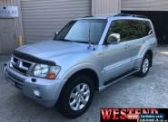 2006 Mitsubishi Pajero NP MY06 Exceed Silver Automatic 5sp Automatic Wagon for Sale