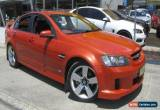 Classic 2007 Holden Commodore VE MY08 SS-V Ignition Manual 6sp M Sedan for Sale