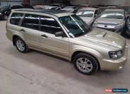 2003 Subaru Forester XT luxury 5spd turbo wrx EJ25 hail dents  ready for rego  for Sale