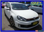 2011 Volkswagen Golf 1K MY11 GTI Adidas White Automatic 6sp A Hatchback for Sale