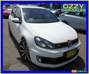 Classic 2011 Volkswagen Golf 1K MY11 GTI Adidas White Automatic 6sp A Hatchback for Sale