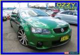 Classic 2011 Holden Commodore VE II SS Green Automatic 6sp A Sedan for Sale