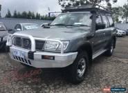 2001 Nissan Patrol GU II ST (4x4) Gold Manual 5sp M Wagon for Sale