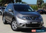 2012 Nissan Murano Z51 MY12 TI Silver Continuous Variable Wagon for Sale