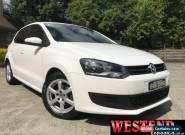 2011 Volkswagen Polo 6R MY11 77TSI Comfortline White Hatchback for Sale